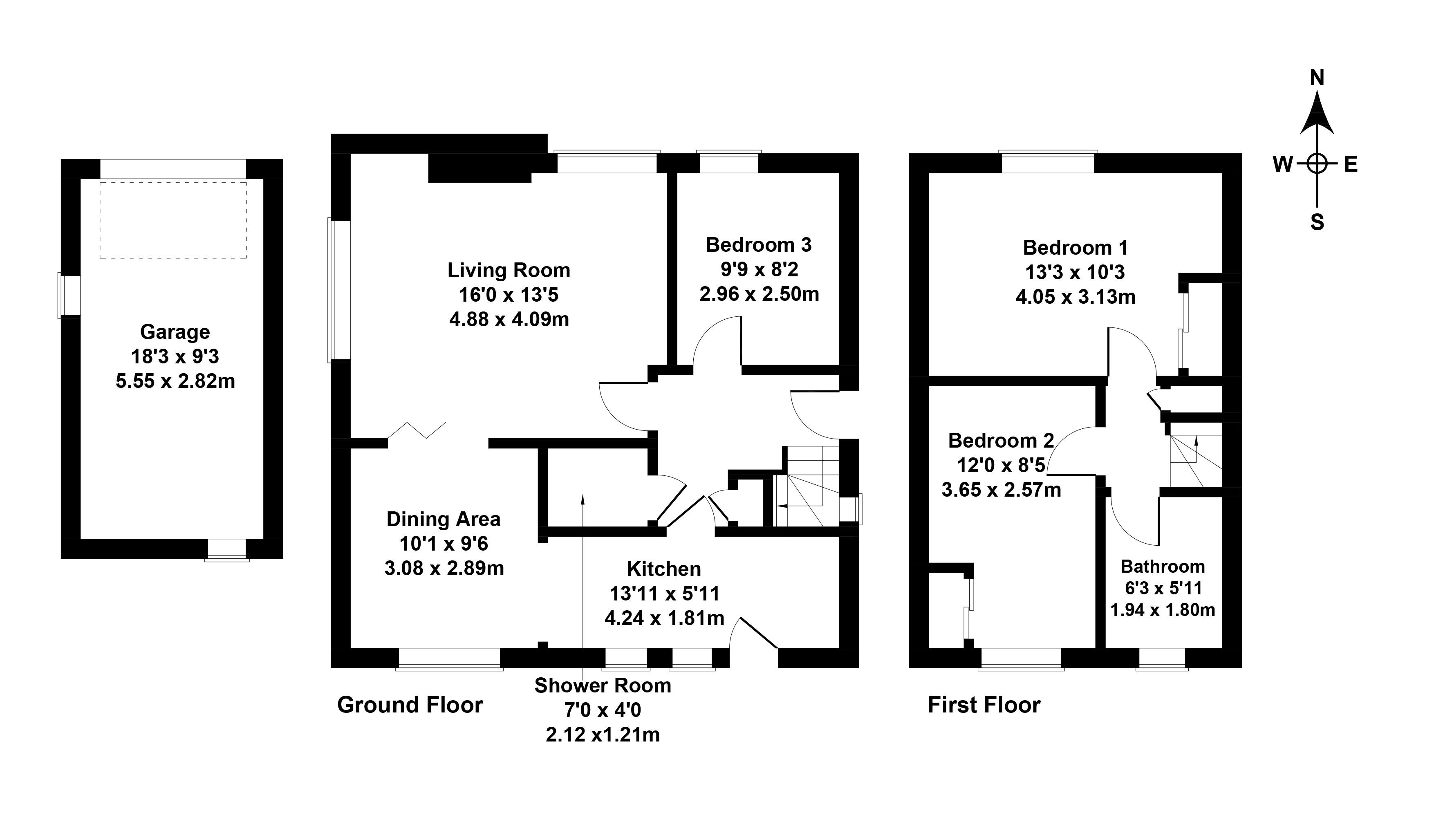 Floorplan 1 of 9 Fox Spring Rise, Comiston, Edinburgh, EH10 6NE