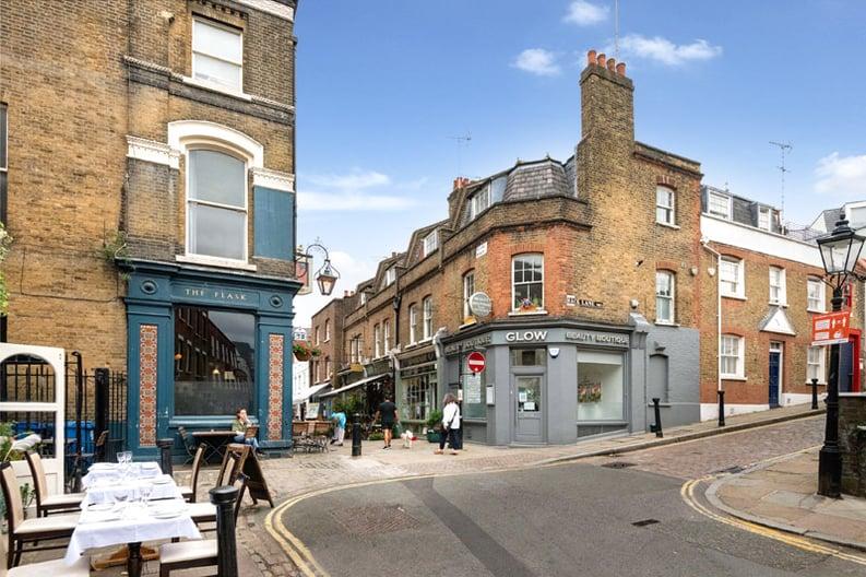 3 bedroom(s) house to sale in Flask Walk, Hampstead Village, London-image 9