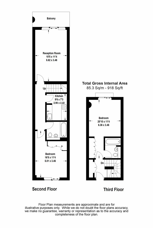 2 bedroom(s) apartment to sale in Cromwell Road, South Kensington, London-Floorplan