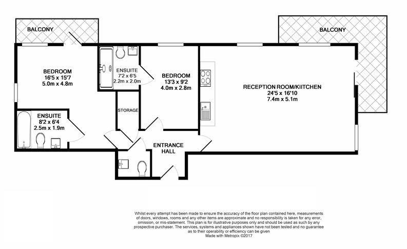 2 bedroom(s) apartment to sale in Beaufort Square, Colindale, London-Floorplan