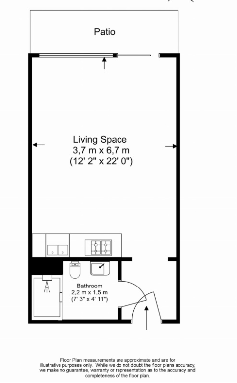 1 bedroom(s) apartment to sale in Croft House, 21 Heritage Avenue, Colindale-Floorplan