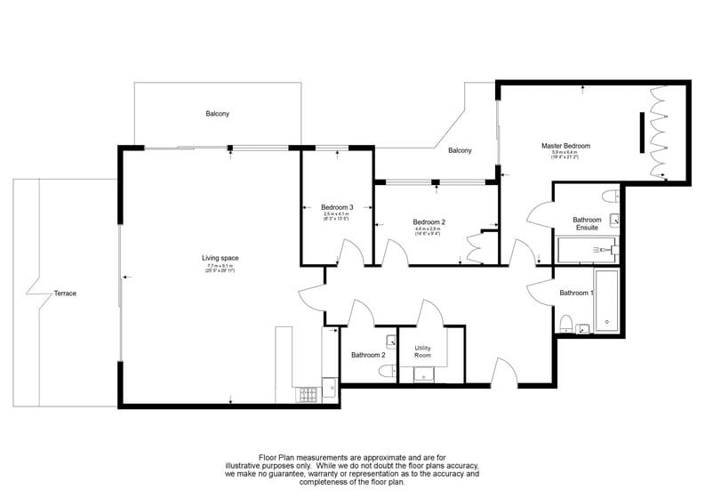 3 bedroom(s) apartment to sale in Boulevard Drive, Colindale, London-Floorplan