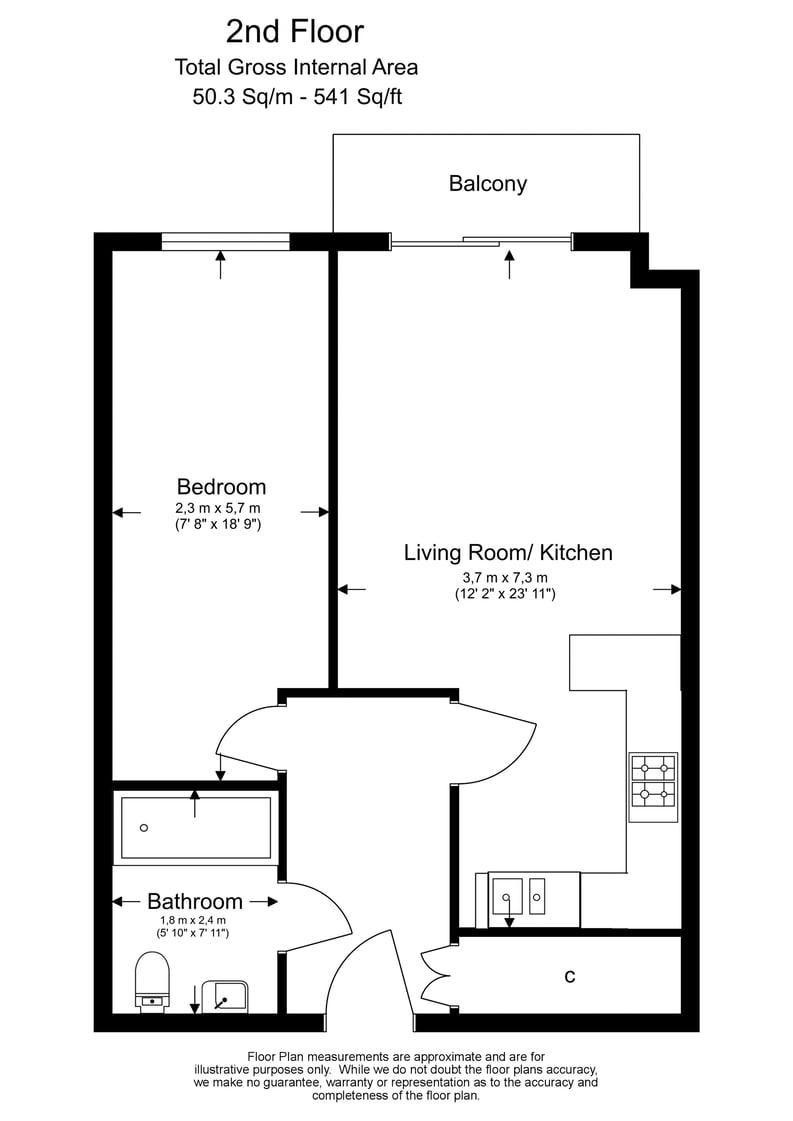 1 bedroom(s) apartment to sale in 27 Heritage Avenue, London-Floorplan