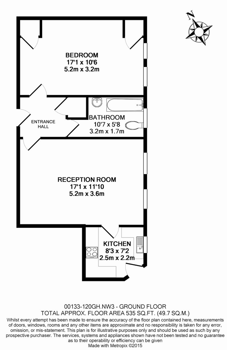 1 bedroom(s) apartment to sale in Greenhill, Prince Arthur Road, Hampstead, London-Floorplan