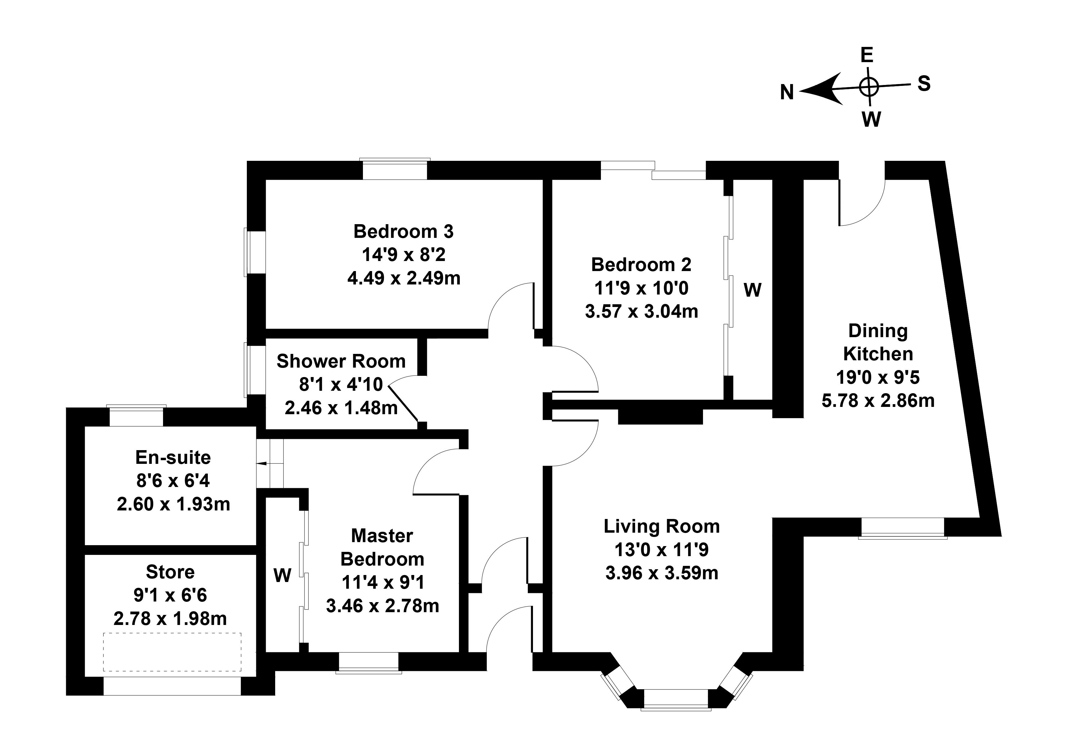 Floorplan 1 of 201 Kingsknowe Road North, Kingsknowe, Edinburgh, EH14 2ED