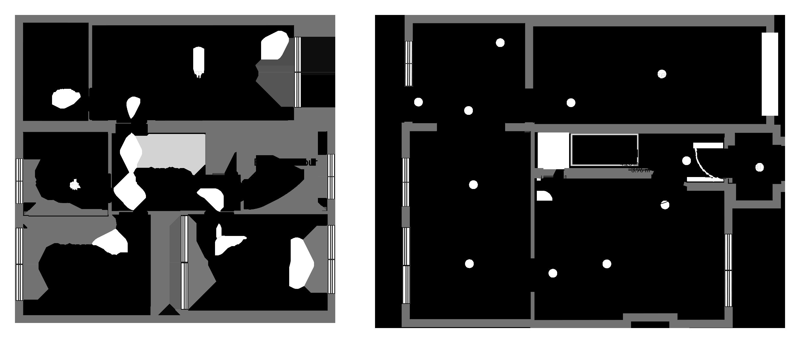 Floorplan for Slimbridge Close, Yate.