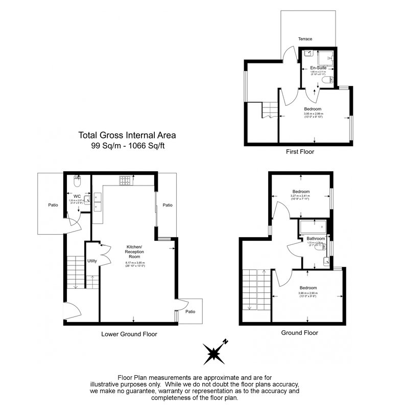 3 bedroom(s) house to sale in Hand Axe Yard, Kings Cross, London-Floorplan