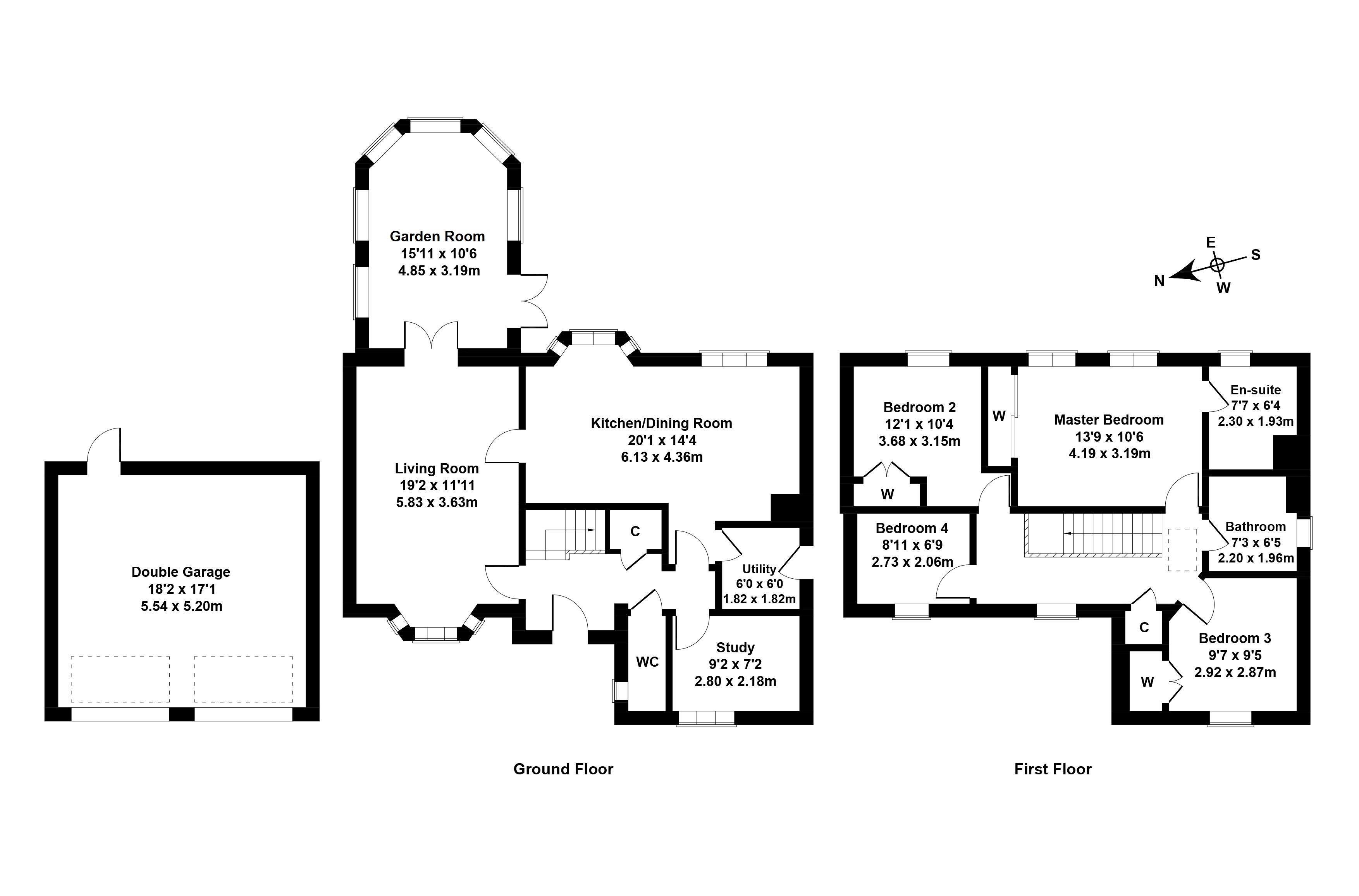 Floorplan 1 of 20 Burnbrae Avenue, Bonnyrigg, Midlothian, EH19 3FN