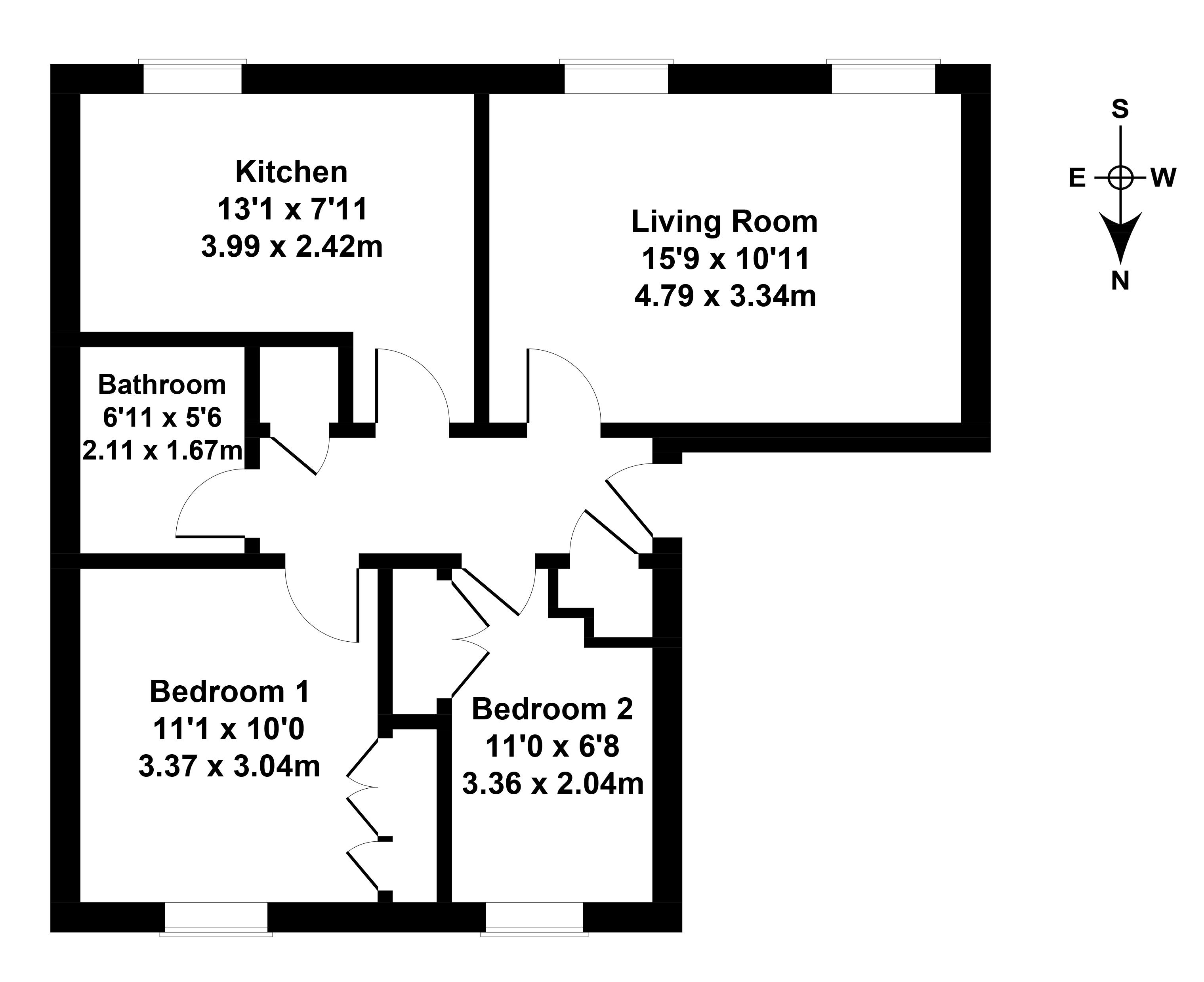 Floorplan 1 of 21/1, Margaret Rose Drive, Fairmilehead, Edinburgh, EH10 7ER