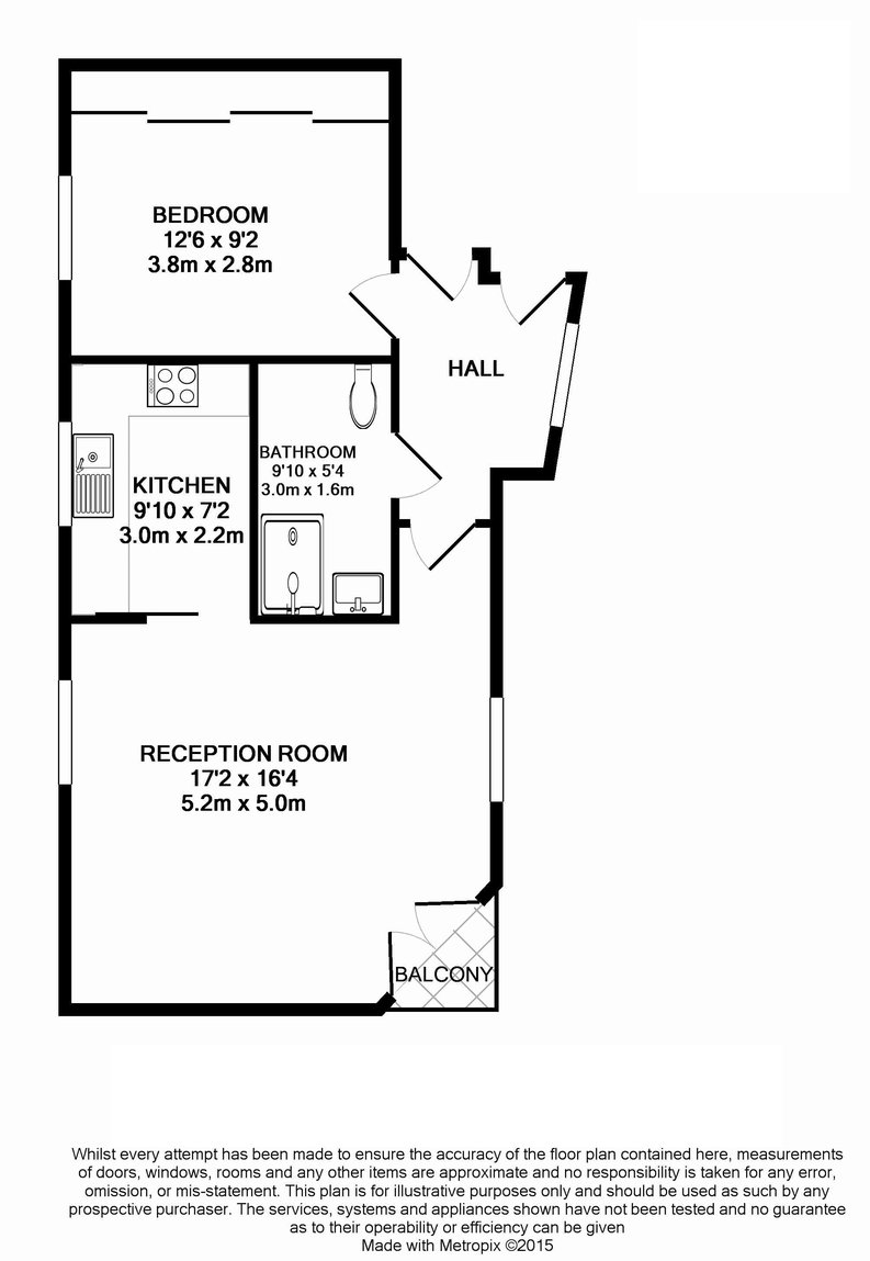 1 bedroom(s) apartment to sale in Clarges Mews, London-Floorplan