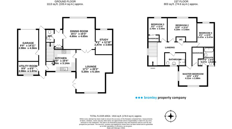 Detached House floorplan