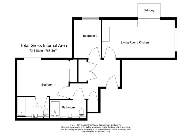 2 bedroom(s) apartment to sale in Cleveley Court, Ashton Reach, Marine Wharf , London-Floorplan