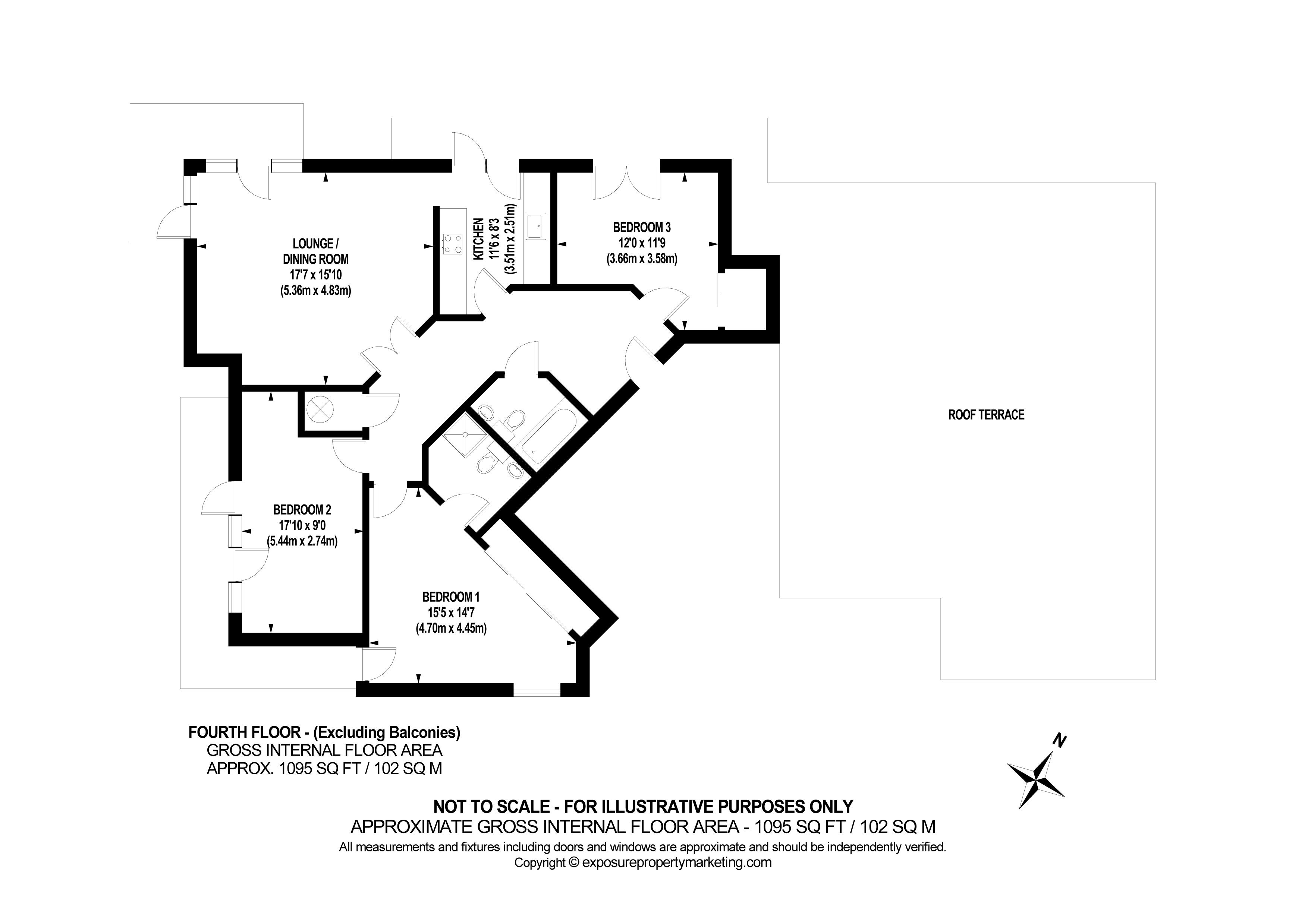 Adventurers Court, Pond Garth, York property floorplan