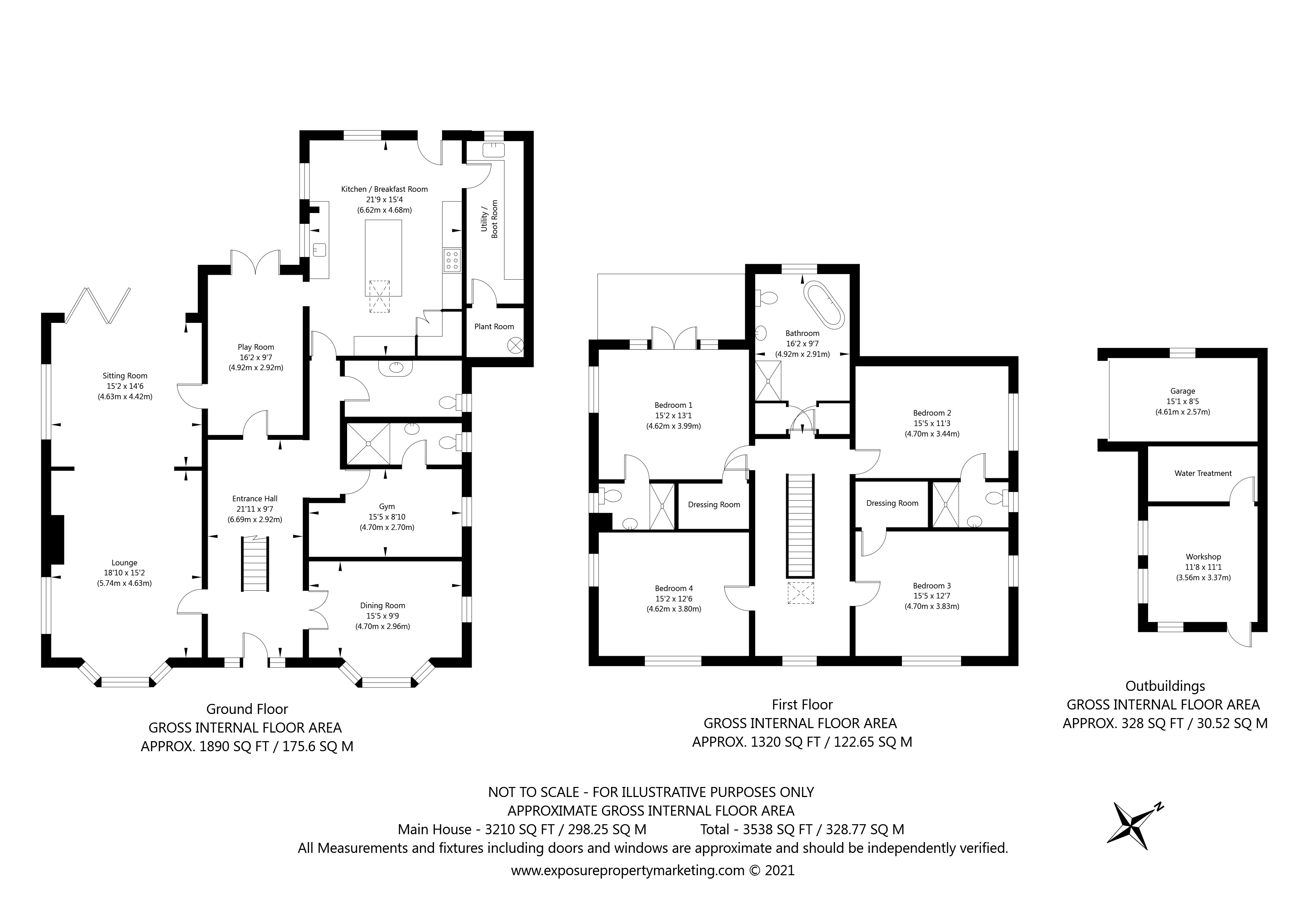 Hazelwood House, Askham Bryan Lane , Askham Bryan, York property floorplan