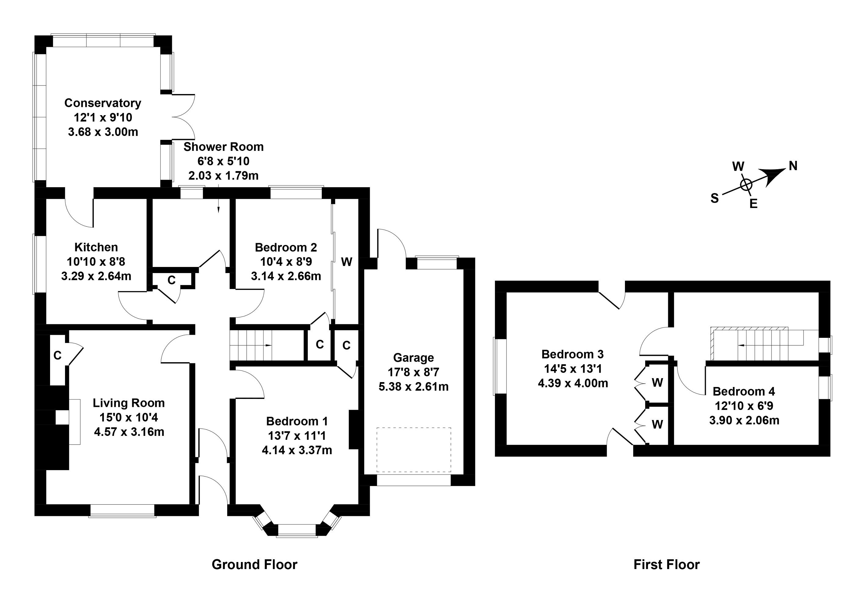 Floorplan 1 of 41 Silverknowes Hill, Silverknowes, Edinburgh, EH4 5HD
