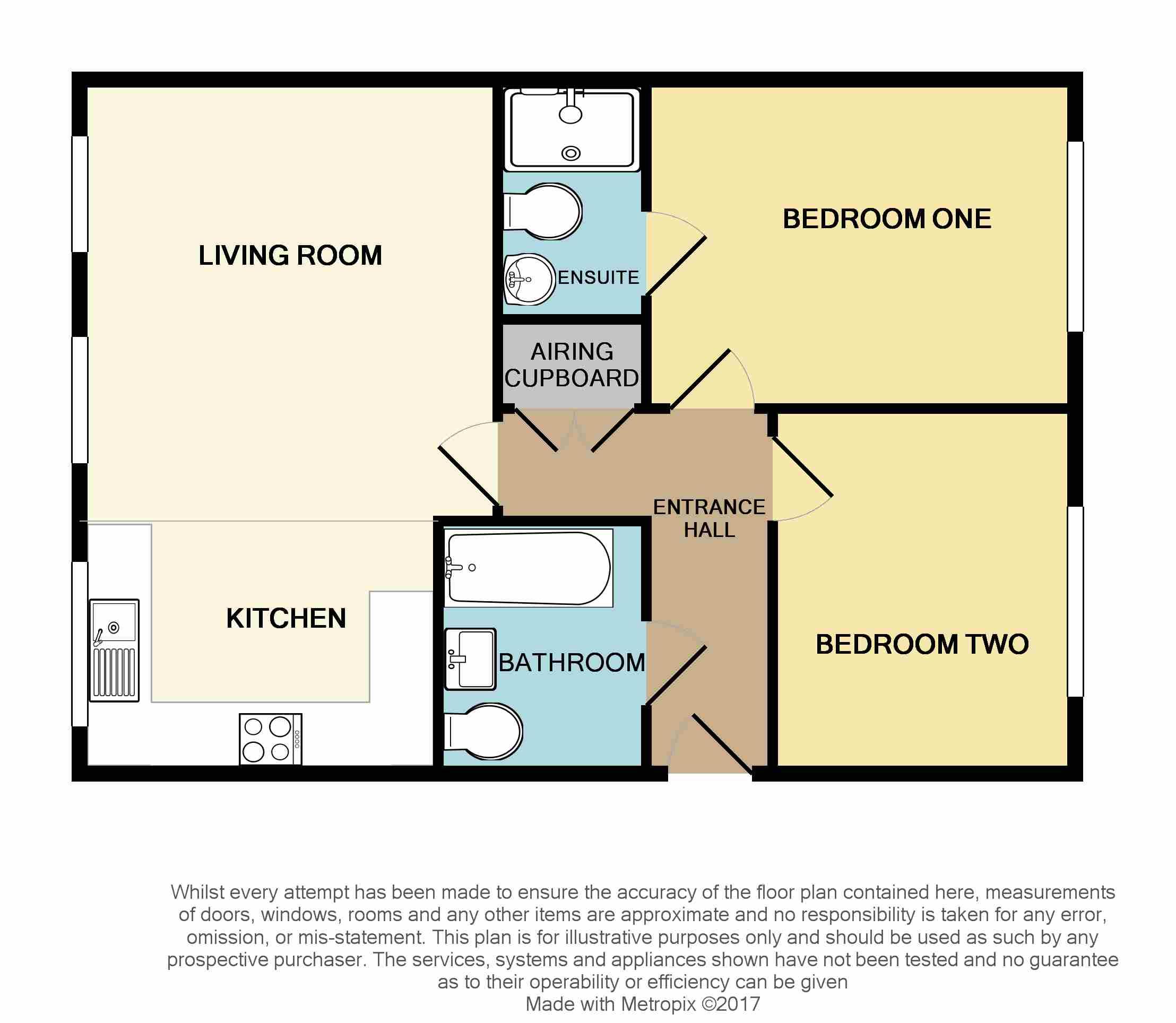 Floorplan for Hollybrook Mews, Yate.