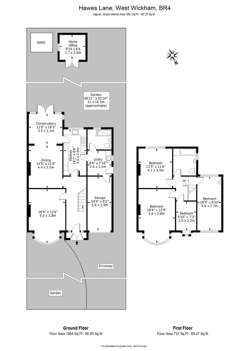 Semi-Detached House floorplan