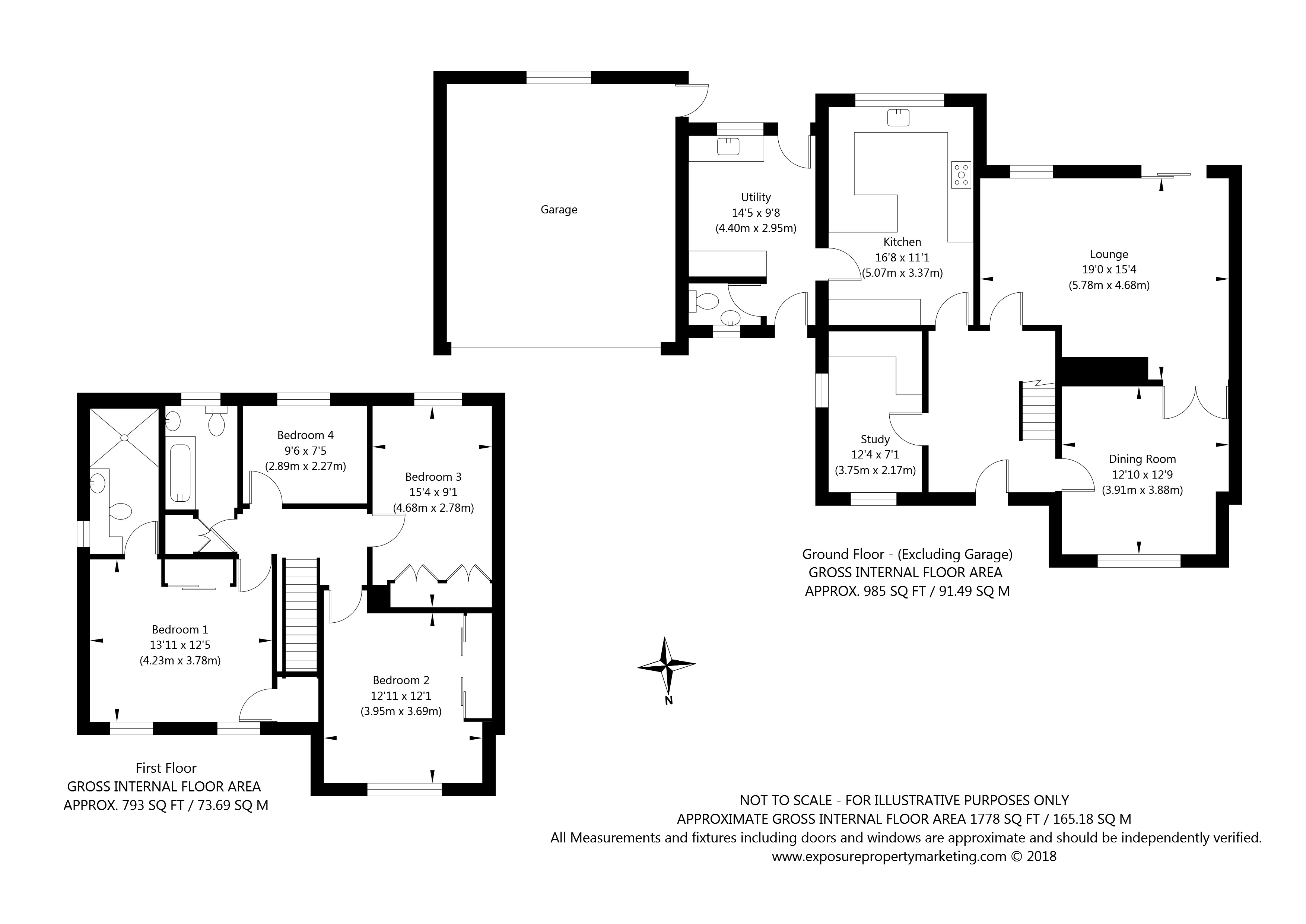Newton Farm Court, Sutton on the Forest, York property floorplan