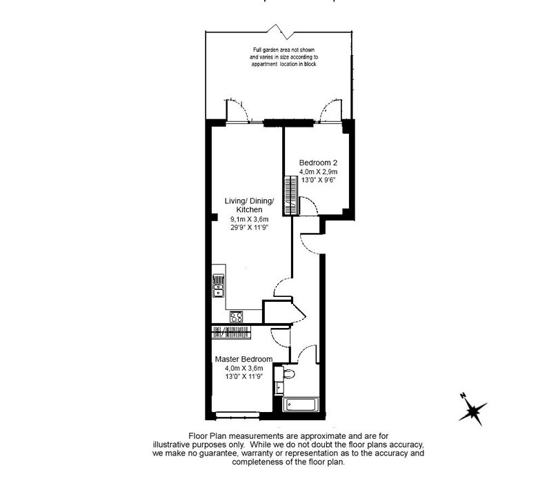 2 bedroom(s) apartment to sale in Woodcroft Apartments, Silverworks Close, Colindale-Floorplan