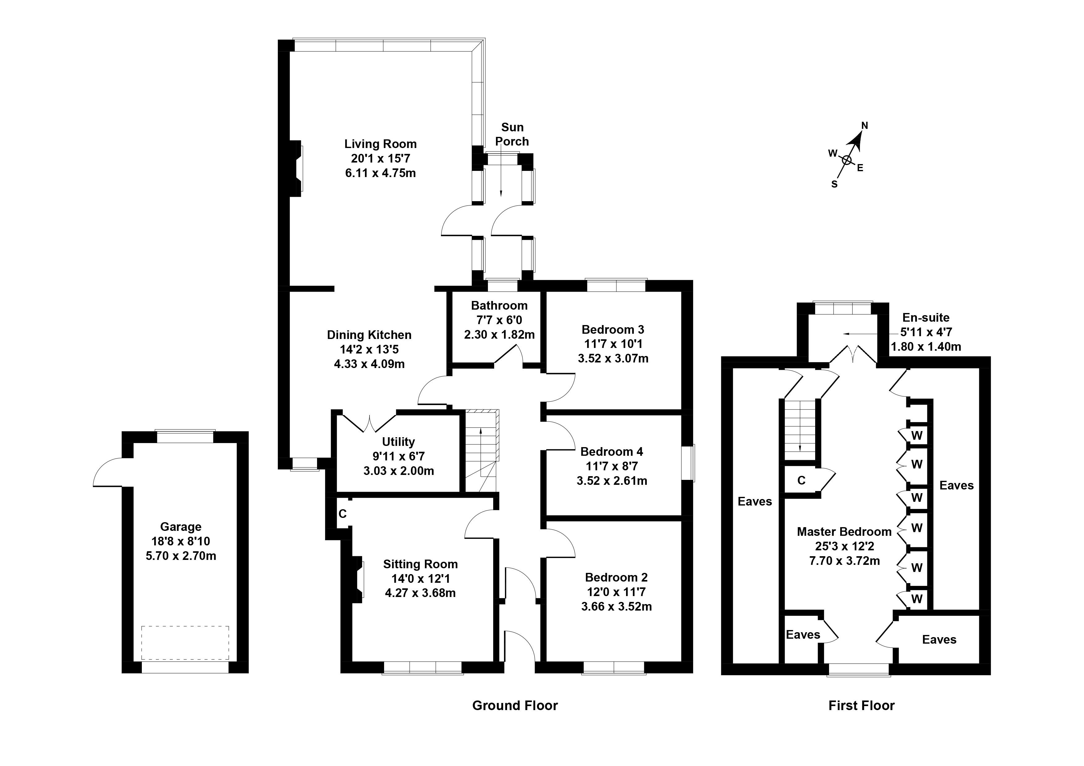 Floorplan 1 of 47 Meadowfield Avenue, Duddingston, Edinburgh, EH8 7NP