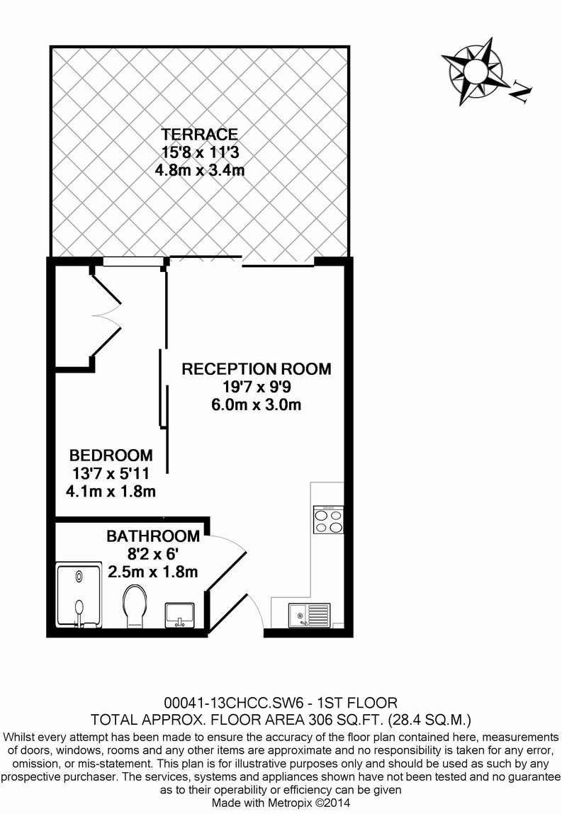 1 bedroom(s) apartment to sale in Counter House, Park Street, Chelsea Creek, London-Floorplan