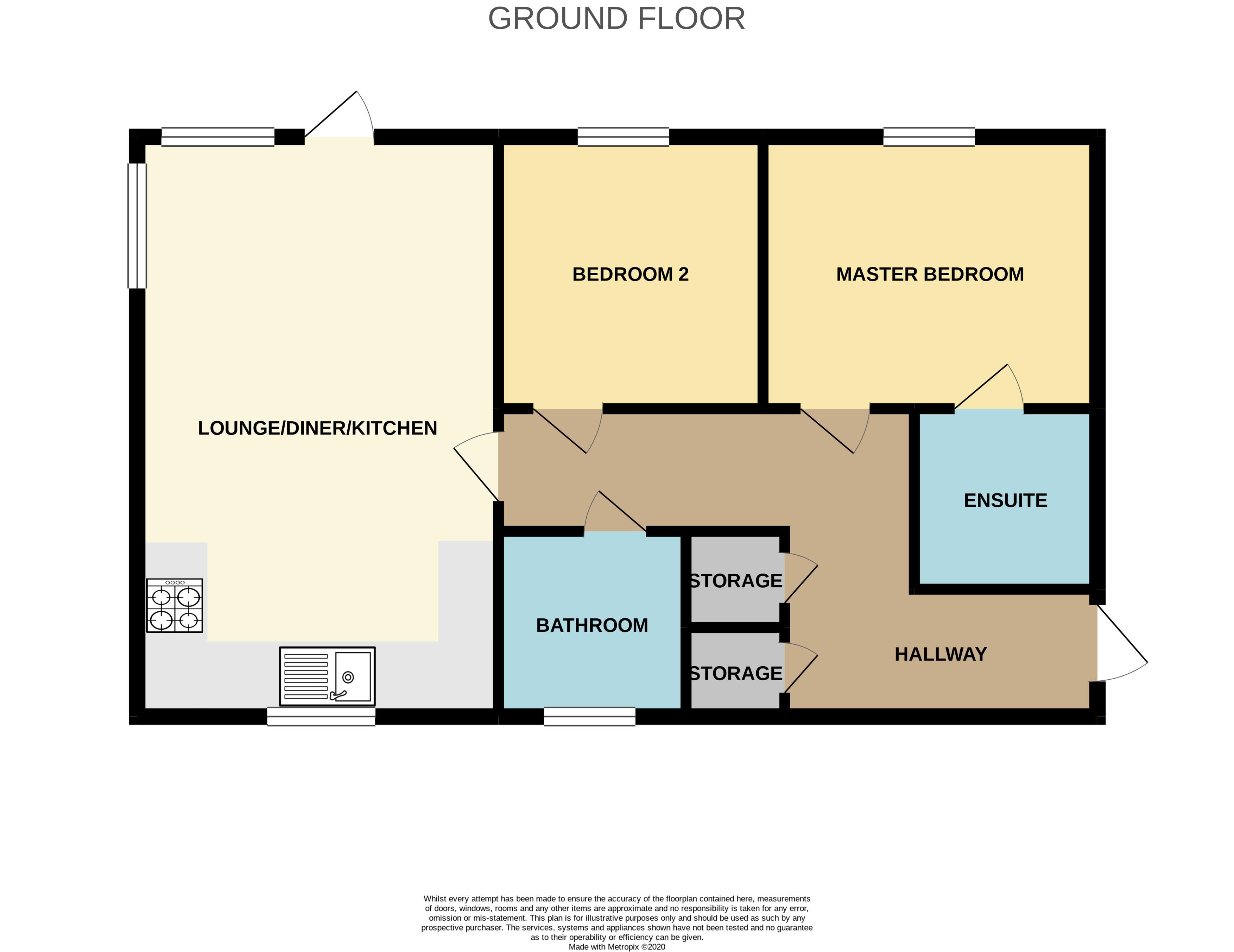 Floorplan for Willowherb Road, Emersons Green.