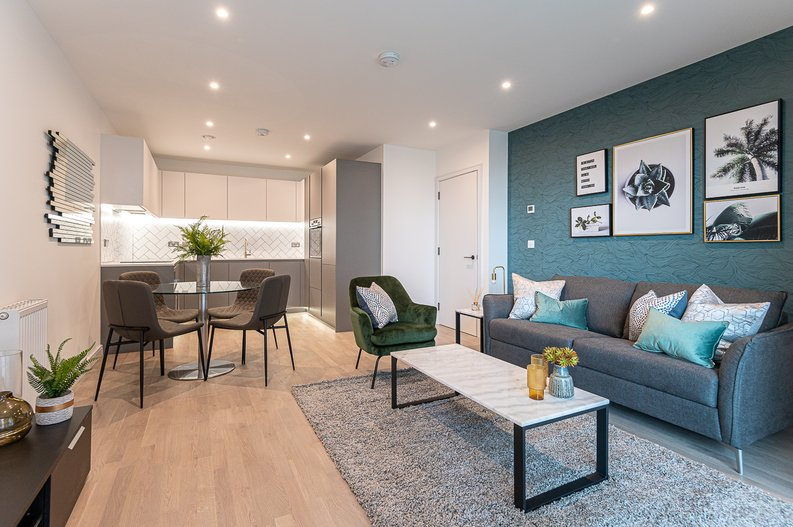 1 bedroom(s) apartment to sale in The Green Quarter, Sibley House, Southall Waterside, London-image 9
