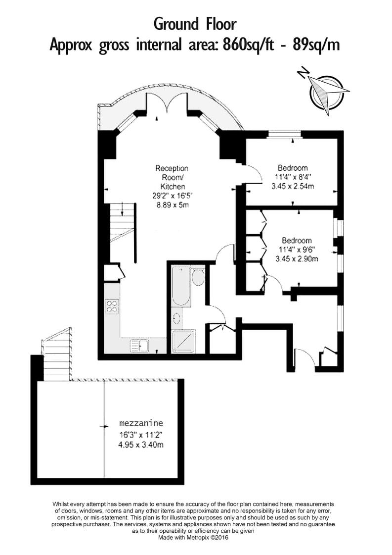 2 bedroom(s) apartment to sale in Belsize Park Gardens, Belsize Park, London-Floorplan