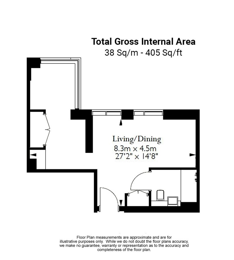 1 bedroom(s) apartment to sale in Sage, 85 Royal Mint Street, Royal Mint Gardens, Tower Hill-Floorplan
