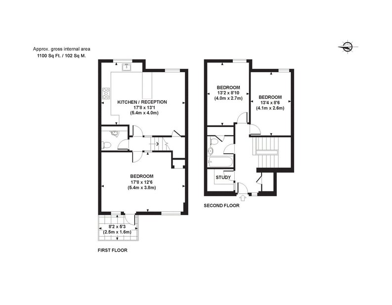 3 bedroom(s) apartment to sale in Anglebury House, Talbot Road, Notting Hill-Floorplan
