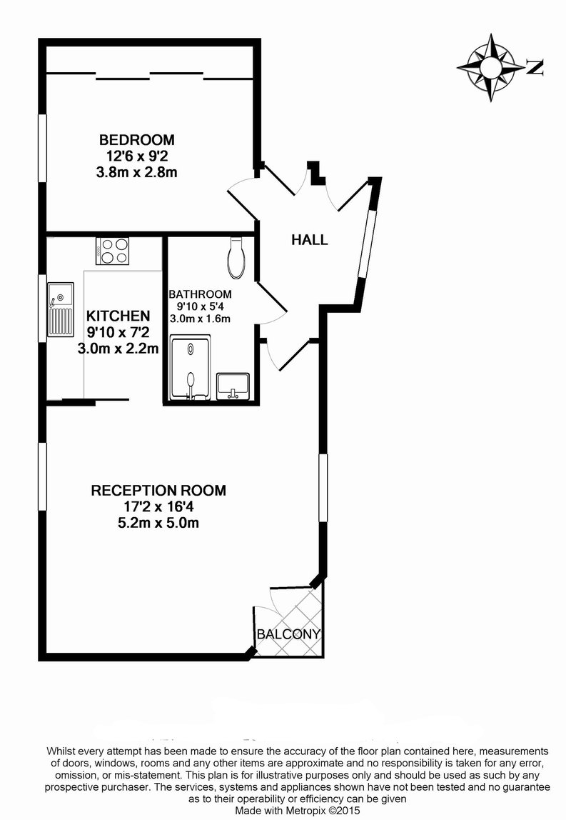 1 bedroom(s) apartment to sale in Clarges Mews, Mayfair-Floorplan